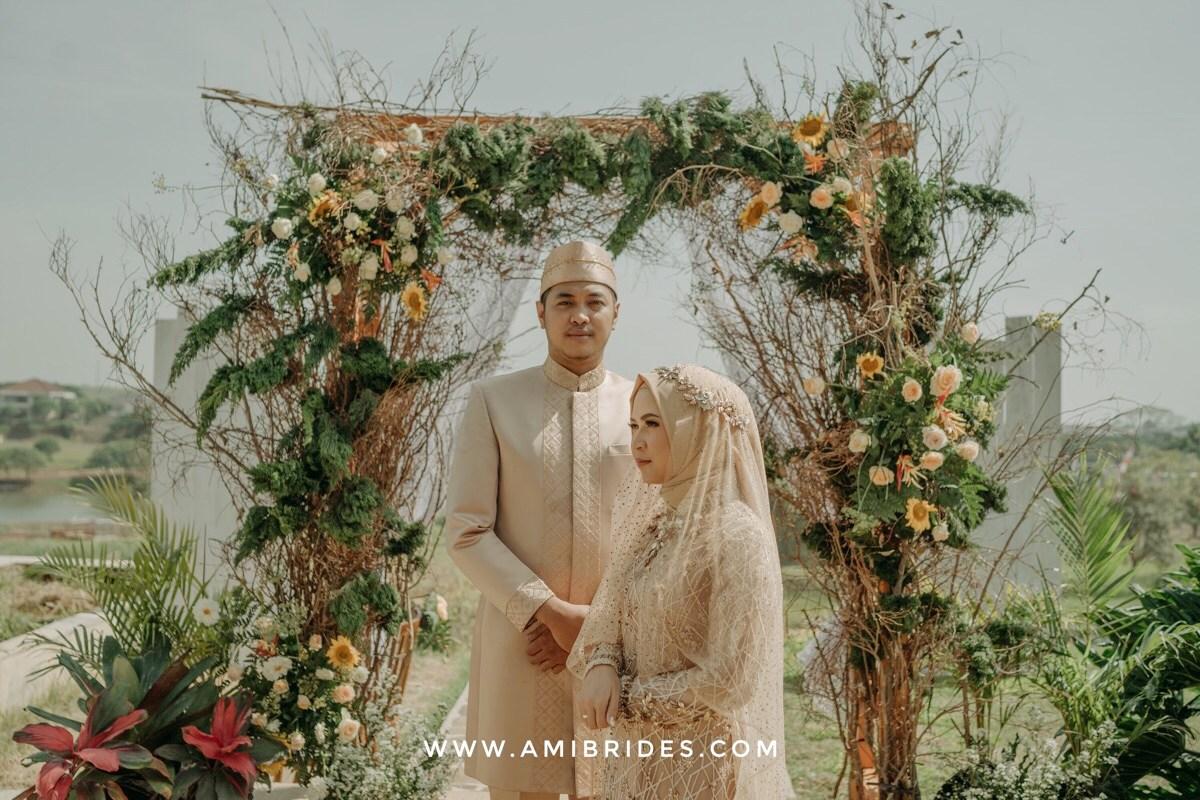 resepsi pernikahan outdoor