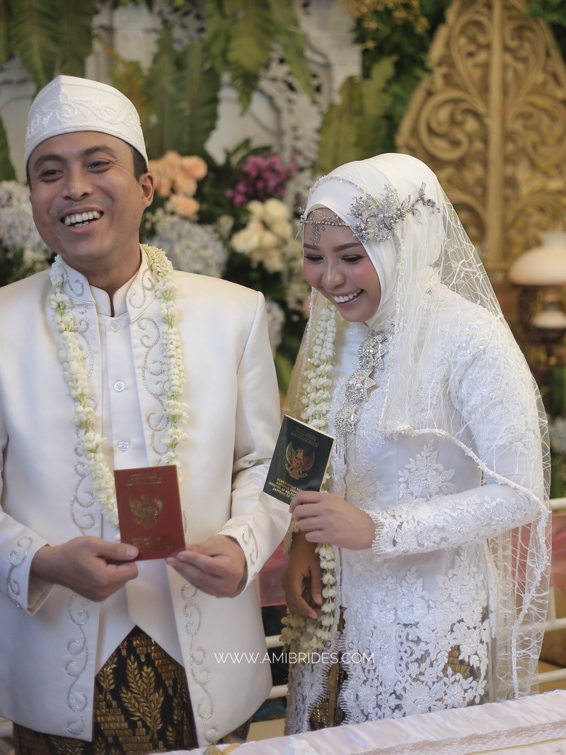 rias pengantin muslim